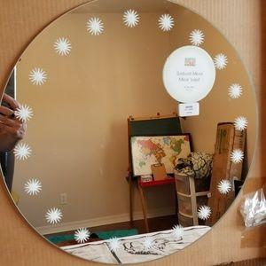 """NIB Martha Stewart Sunburst Mirror 16"""" Diameter"""